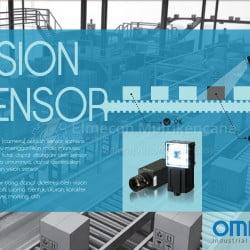Aplikasi penggunaan vision sensor.