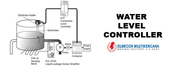 Water Level Controller Omron  Apa Saja Komponen Yang Di Perlukan