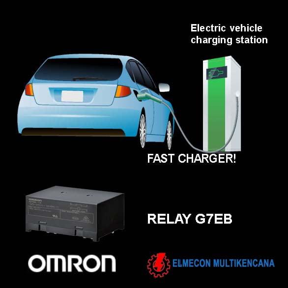 mobil listrik relay