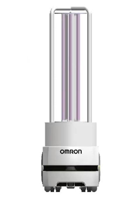 omron robot disinfektan