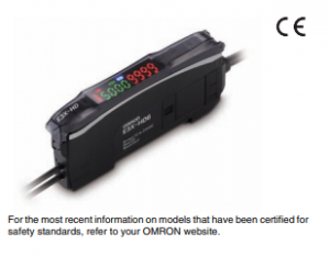 Smart Fiber Amplifier Unit E3X-HD Image