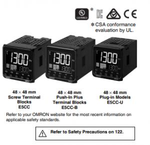 Digital Temperature Controller E5CC/E5CC-B/E5CC-U Image