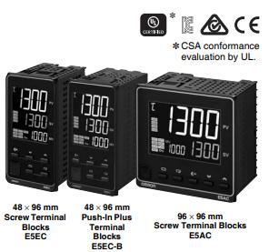 Digital Temperature Controller E5EC/E5EC-B/E5AC Image