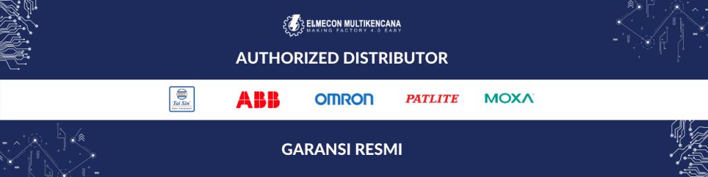 distributor patlite,distriburor omron, distributor moxa, distributor abb, distributor busduct